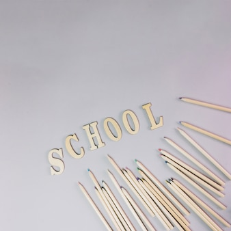 Pisanie w szkole i ołówki