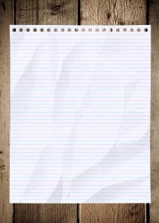Pomarszczony tekstury papieru
