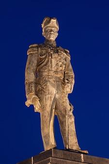 Pomnik Krom Luang Chumphon Khet Udomsak statua Ojciec marynarki Tajlandii