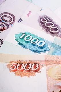 rosyjski banknotów