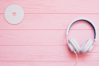 Słuchawki i dysk
