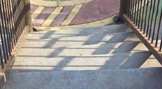 schody, etap