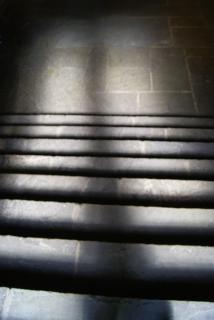 schody cień