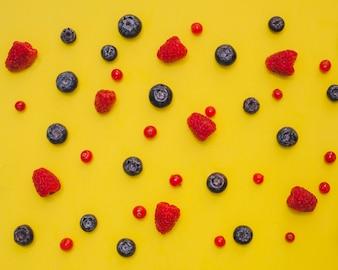 Skład owoców niechlujnych