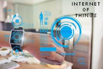 SmartWatch z rzeczywistości rozszerzonej