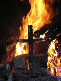 Spalenie krzyża