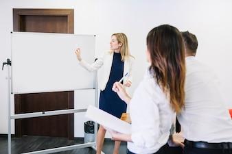 Spotkanie biznesowe sceny