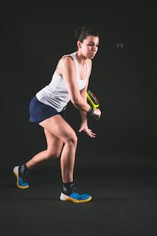 Squash Trening zawodnika