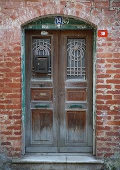 Stary turecki drzwi