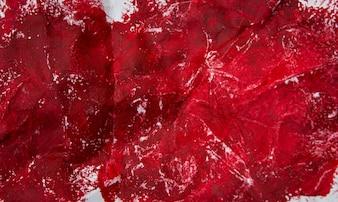Streszczenie czerwony obraz olejny