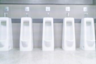 Streszczenie rozmyte mężczyzn WC