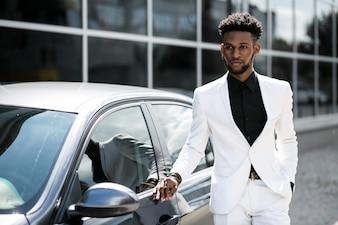 Telefon african mody tryb profesjonalny portret
