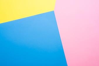 Trójkolorowe tło geometryczne