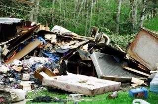 Wysypisko śmieci, zanieczyszczenie