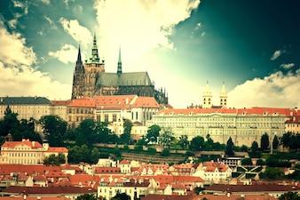 Zabytki Pragi.