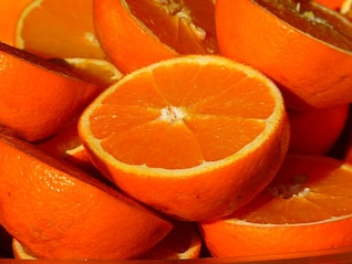 vitaminas, frutas, fruta cítrica naranja