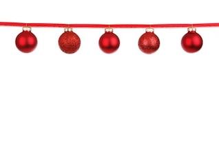 decoración colorida chuchería de la Navidad bola de cristal
