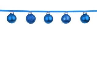bola de cristal colorida decoración de Navidad chuchería