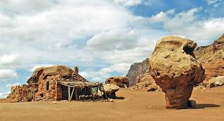 arizona rocas de mármol nativo refugio cañón