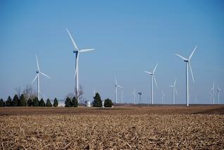 máquinas agrícolas turbinas de energía eólica, molinos de viento