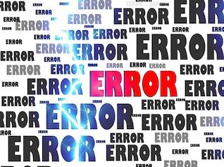 problema fracaso accidente engaño computadora falso error