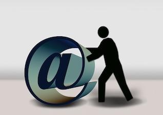 diapositiva fig email silueta ordenador