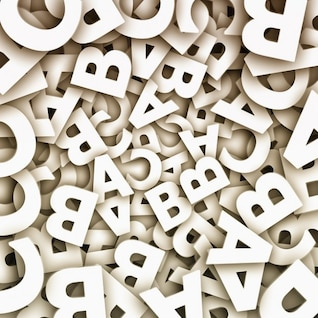 alfabetización abc letras del alfabeto analfabeto