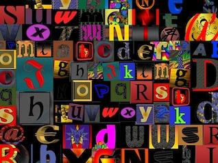 abc letras del alfabeto analfabeto alfabetización
