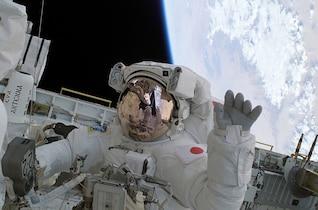 onda espacial astronauta Soichi Noguchi viajes