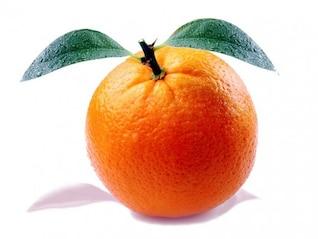 fruta cítrica naranja vitaminas