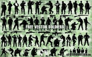 soldados del vector
