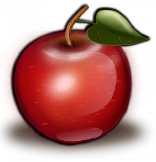 ii manzana roja