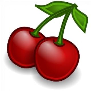 frutas cerezas