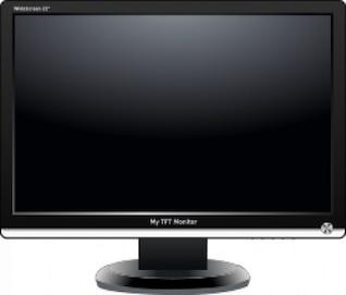mi monitor TFT (pantalla ancha)