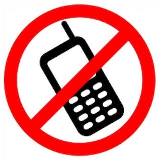 no permitió los teléfonos celulares