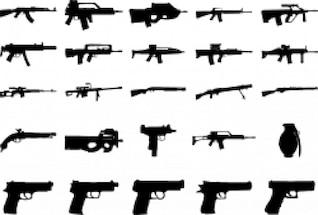paquete de armas de fuego