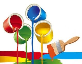 acciones de pintura de vectores # 1