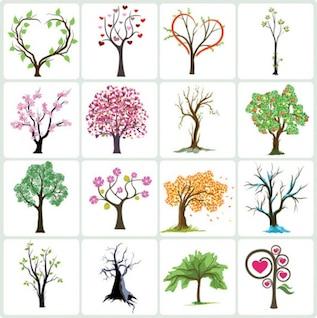 Vector de archivo árbol de la colección