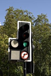 semáforos, de la ciudad