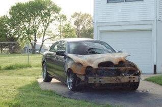 coche destrozado, nikond50