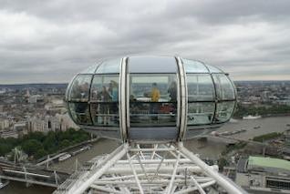 el London Eye, la rueda de