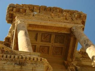 biblioteca en Éfeso, Turquía