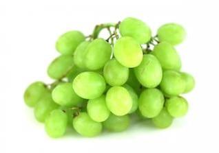 uvas verdes, montón