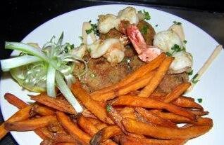 lo suficientemente bueno para comer, restaurante, cangrejo