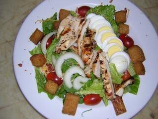 ensaladas coloridas, restaurantfood
