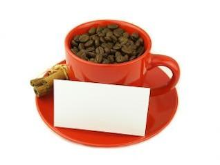 granos de café muy cerca, el café