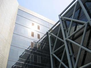 detalle moderno edificio