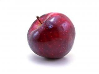 manzana roja, colores