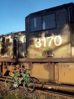 Raleigh 2100 bicicleta de montaña verde se t