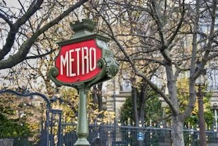 París en el invierno, el agua